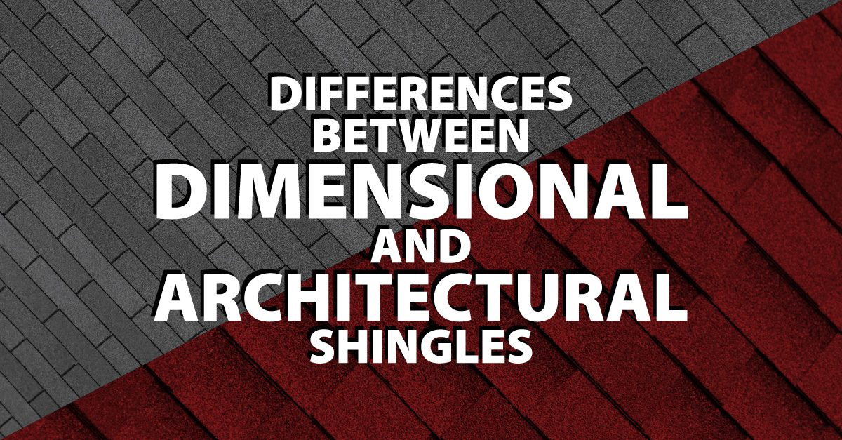 Differences Between Dimensional And Architectural Shingles