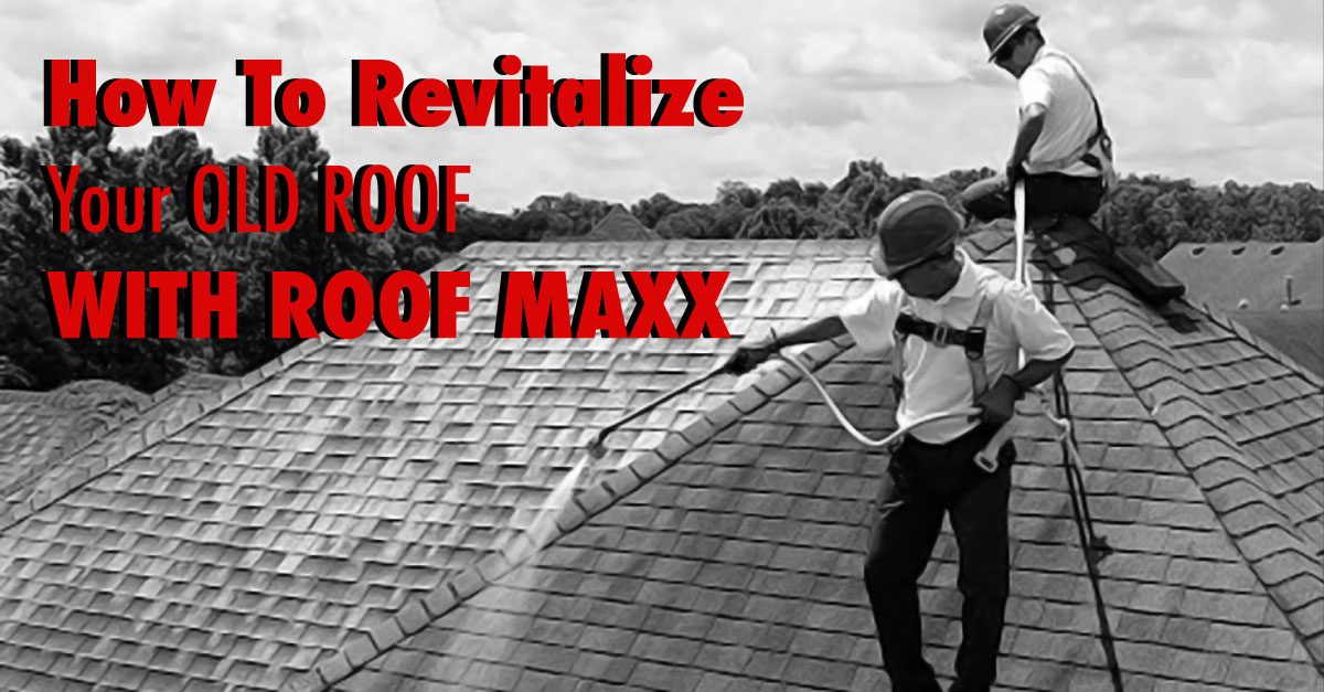 How To Revitalize Your Old Roof With Roof Maxx