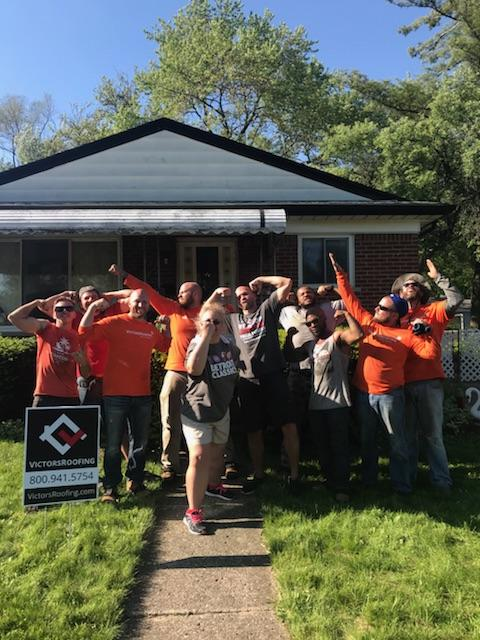 Victors Roofing Pay It Forward - Free Roof Campaign